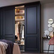 Raffito garderobekast met stijldeuren klassiek