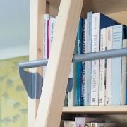 Lundia boekenkast met ladder