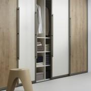 Raffito garderobekast omlijste deuren