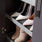 Raffito Twist antraciet schoenenkast