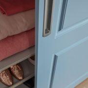 lRaffito garderobekast met stijldeuren klassiek
