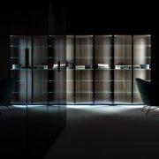 Caccaro Verlichte vitrinekast