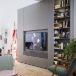 Caccaro Core woonkamerkast met televisiemodule