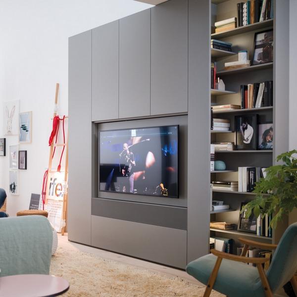 Caccaro woonkamerkasten met televisiemodule
