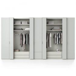 Wat is de maatvoering van een kledingkast?